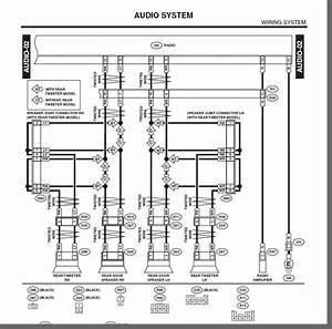 What Is The Wiring Diagram For The 2003 Subaru Baja Factory Radio