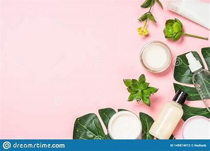Skin Care Flat Lay Natural Cosmetic Naturale