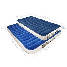 alternative to air mattress favored size high or single height