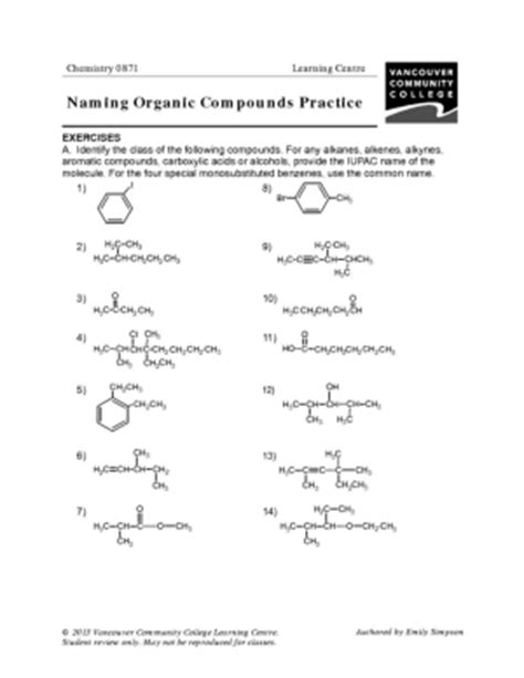 Vcc Lc  Worksheets  Chemistry  Chemistry 08610871