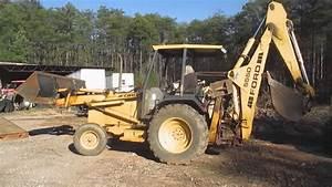 Ford 555d Backhoe
