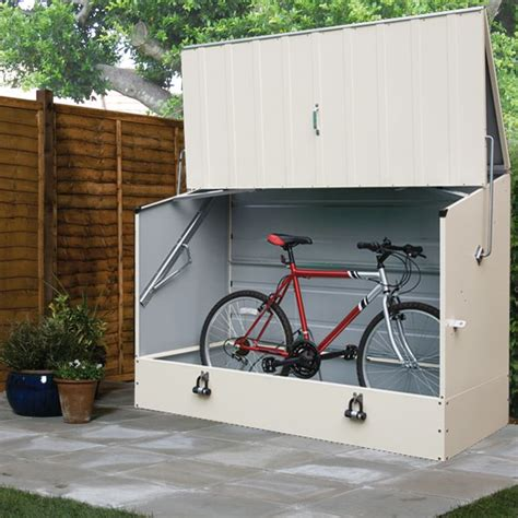 cycle storage sheds protect a cycle pent metal bike store 6x3 departments