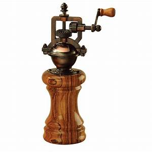 Wood River Antique Pepper Mill