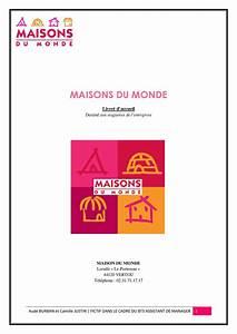 Maison Du Monde Pontarlier : calam o livret d 39 accueil maisons du monde fictif ~ Dailycaller-alerts.com Idées de Décoration