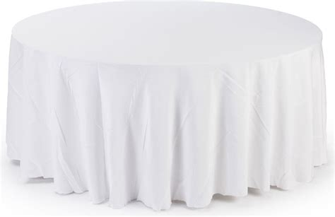 round white table cloth white round tablecloths 11 foot diameter