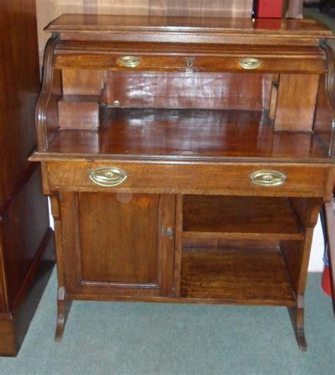 Edwardian Roll Top Desk  Antiques Atlas