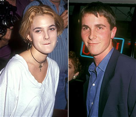 Christian Bale Reveals Dated Drew Teenager