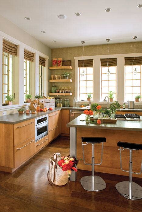kitchens without cabinets idea house kitchen design ideas southern living 3579