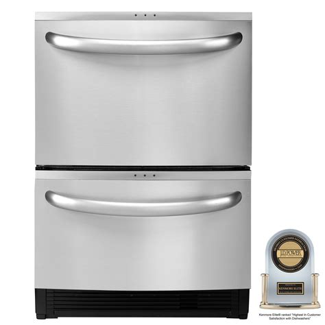 Kenmore Elite 24 Quot Double Dishwasher With Sliding