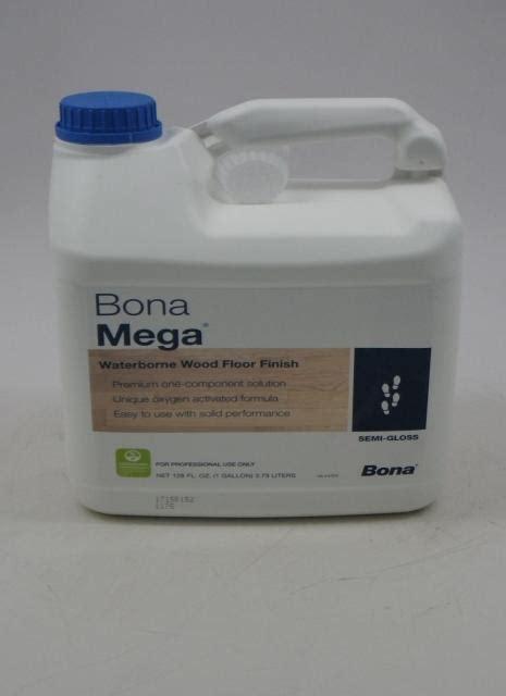 Bona Mega Waterborne Wood Floor Finish Semi Gloss Gallon