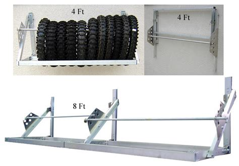tire rack free shipping pit products 4 6 8 ft universal trailer tire rack free