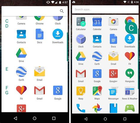 screenshot with android android m release date features and screenshots