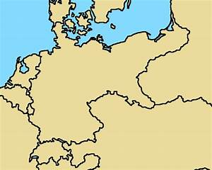 Blank map of German Empire, (1914 borders) by ...