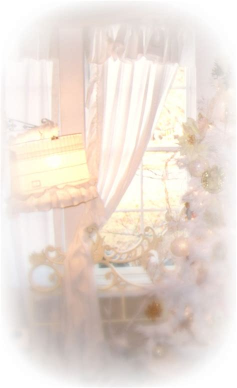 shabby chic white curtains olivia s romantic home shabby chic ruffle curtain