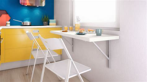 table pour cuisine table cuisine rabattable murale table basse table