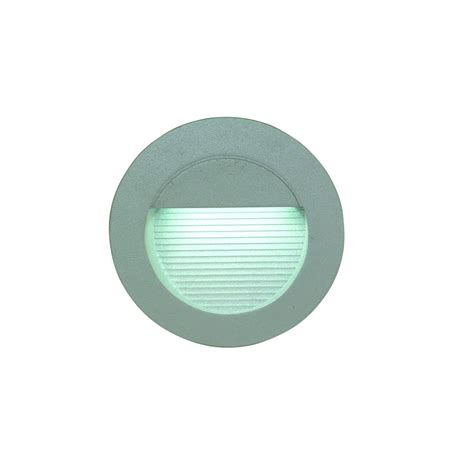 wall light led built in frontal 0 6w led ip54 125mm