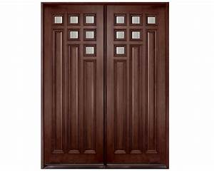 Dark Polish Main Double Door Pid001 Main Doors Design