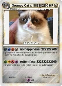 Grumpy Cat Pokemon Card