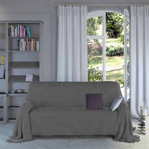 jet de canap blanc plaid gris pour canapé plaid gris pour canape superbe