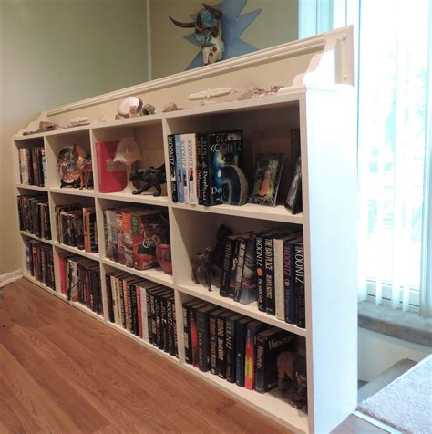 Half Wall Bookcase Needed Somewhere To Display My Stephen