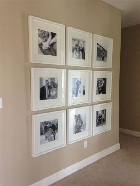ikea picture wall black and white photo wall with ikea frames chronological order plan on incorporating newborn
