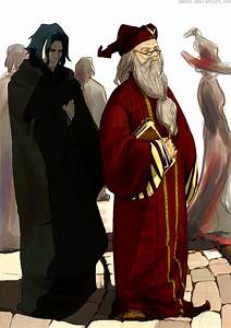 HP: Snape and Dumbledore by azmin on DeviantArt