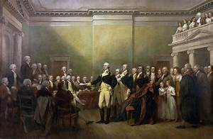 General George Washington Resigning his Commission, 1817 ...