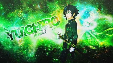 wallpaper pc bergerak anime green anime wallpapers