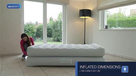 Aerobed® Comfort Classic Raised Single