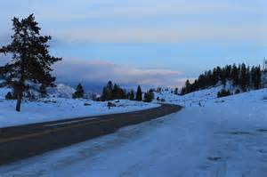 Yellowstone National Park during Winter