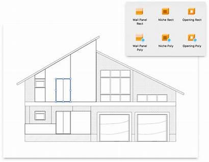 Elevation 3d Pro Plan Floor Roof Views