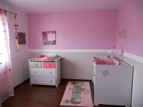 chambre de bébé fille photo décoration chambre de bebe fille