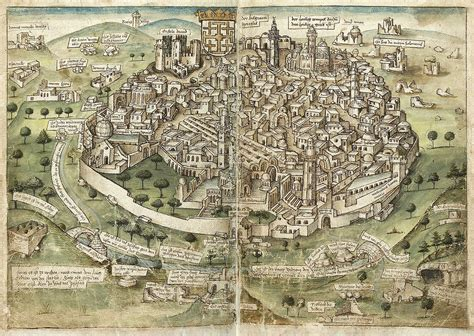 siege eram history of jerusalem during the middle ages