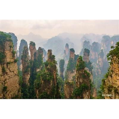 Pix on TripsZhangjiajie National Forest Park Hunan China