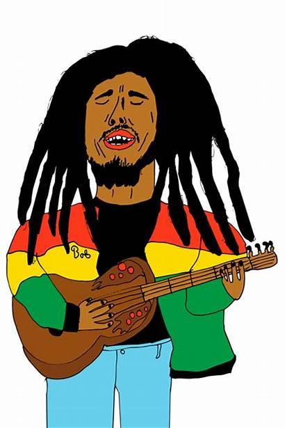 Marley Bob Clipart Reggae Clip Draw Cliparts