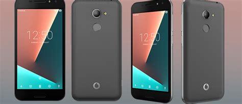vodafone smart n8 has dual speakers and fingerprint reader