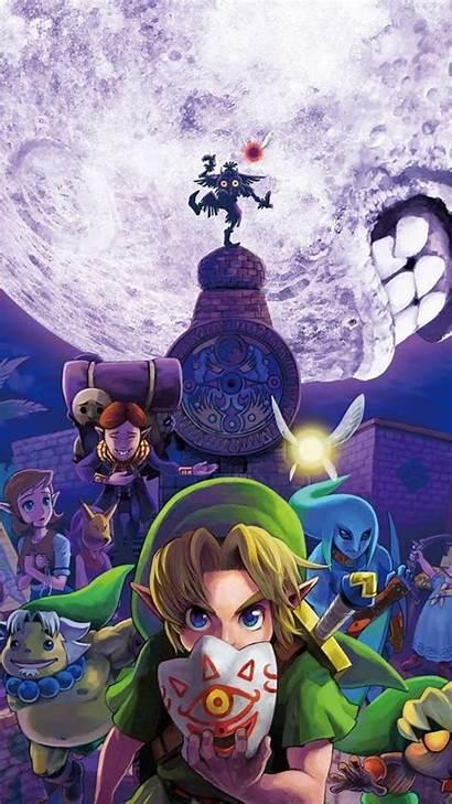 Zelda Legend Iphone Wallpapers Android Mask Majoras