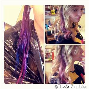 QuotSplatquot Hair Color DIY Splat Hair Color Ideas