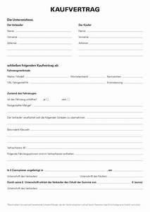 Auto De Privat : kaufvertrag kfz privat kostenlose vorlage kaufvertrag ~ Kayakingforconservation.com Haus und Dekorationen