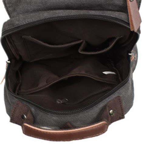 shop  mygreen sling canvas cross body   laptop messenger bag shoulder backpack khaki