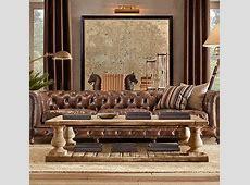 Balustrade salvaged wood coffee table Furniture