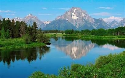 Teton Wyoming Grand National Park Spring Moran