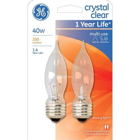 ge bent tip light bulb