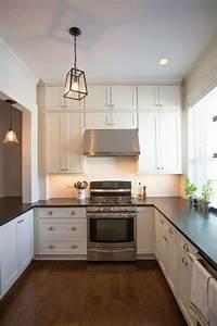 Narrow, U, Shaped, Kitchen, Designs