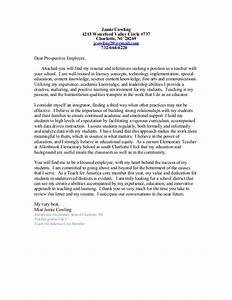 Cowling cover letter resume teaching 2016 for Teach for america cover letter