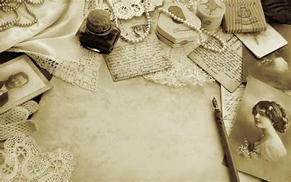 Letter Retro Wallpapers Pearls Desktop Backgrounds Pencil