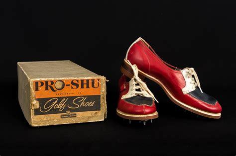 vintage   box pro shu ladies leather golf shoes size