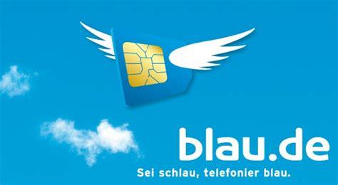 Blau Zweite Sim Karte