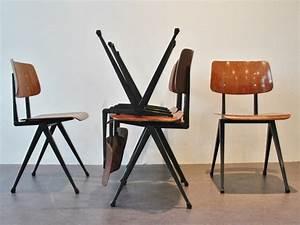 Chaise Style Industriel : chaise de salle manger en style industriel ~ Teatrodelosmanantiales.com Idées de Décoration