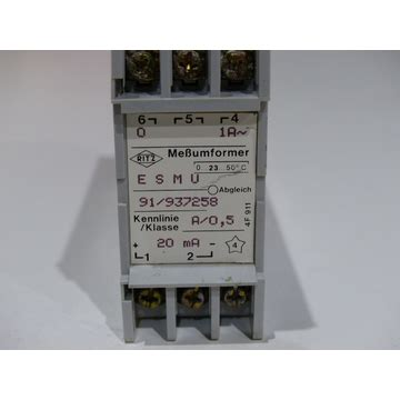 Ritz ESMU 91/937258 Meßumformer, 33.24